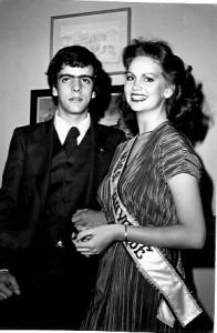 11 - Na Cidade do México, com a  Miss Universo  Margaret Gardiner (1979)