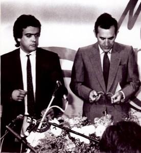 13 - Em Lisboa, com o Presidente Ramalho Eanes (1987)