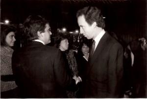 16 - Em Lisboa, com Pedro Santana Lopes (1990)