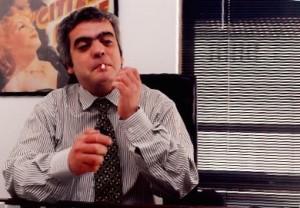 28 - Em Lisboa, no  meu gabinete da  Chiado  (1995)
