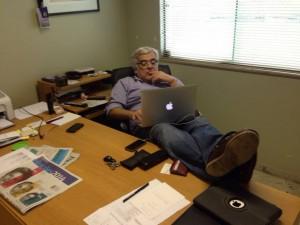 47 - Em Campo Grande, no meu gabinete de trabalho (Outubro de 2014)