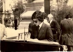 10 - No México, durante as comemorações do  10 de Junho  (1979)