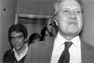 12A - Com Mário Soares, na campanha eleitoral das legislativas de 1980
