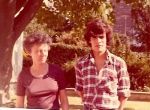 12 - Na Cidade do México, com a minha Tia Maria José (Tetá) (1980)