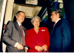 18 - Em LIsboa, com Maria Irene e Francisco Salgado Zenha (1991)