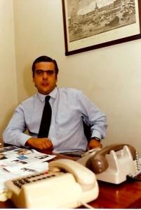 19 - No meu gabinete da revista  Sábado  (1991)