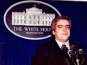 27 - Em Washington, na Casa Branca (1994)