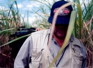 29 - Em Cuba, durante as filmagens do documentário  O Enigma Cubano  (1995)