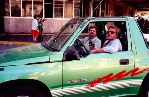 30 - Em Havana, com Jorge Lemos Peixoto (1995)
