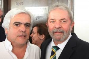 46 - Em Campo Grande, com o Presidente Lula da Silva (Maio de 2014)